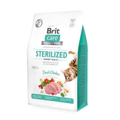 Brit Care Sterilized Urinary Pollo Fresco Grain Free per Gatti