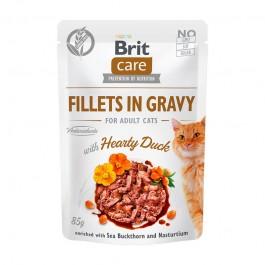 Brit Care Sterilized Filetti con Anatra in Salsa per Gatti
