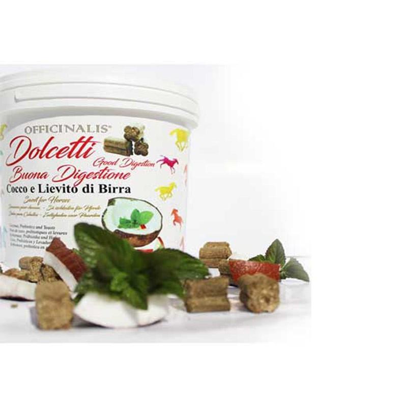 Dalla Grana Officinalis Dolcetti Cocco e Lievito di Birra