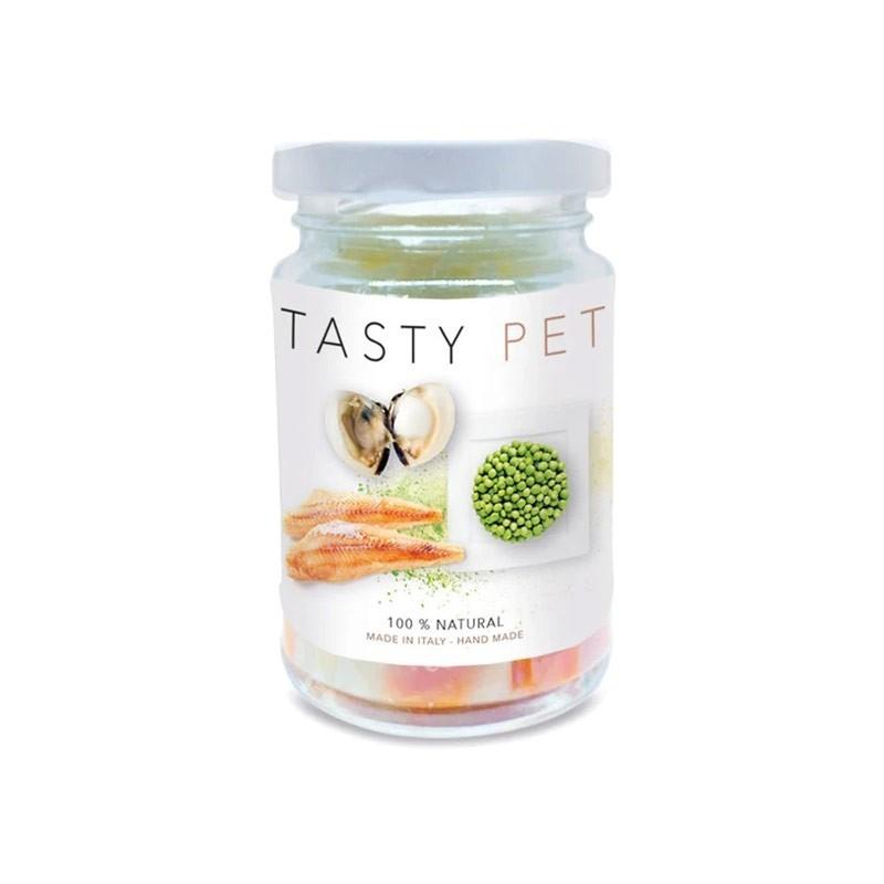 Tasty Pet Pesce Azzurro e Vongole in Vasocottura Umido per Gatti