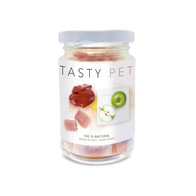 Tasty Pet Maiale e Mela in Vasocottura Umido per Gatti