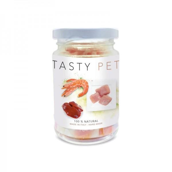 Tasty Pet Gamberi e Pollo in Vasocottura Umido per Gatti