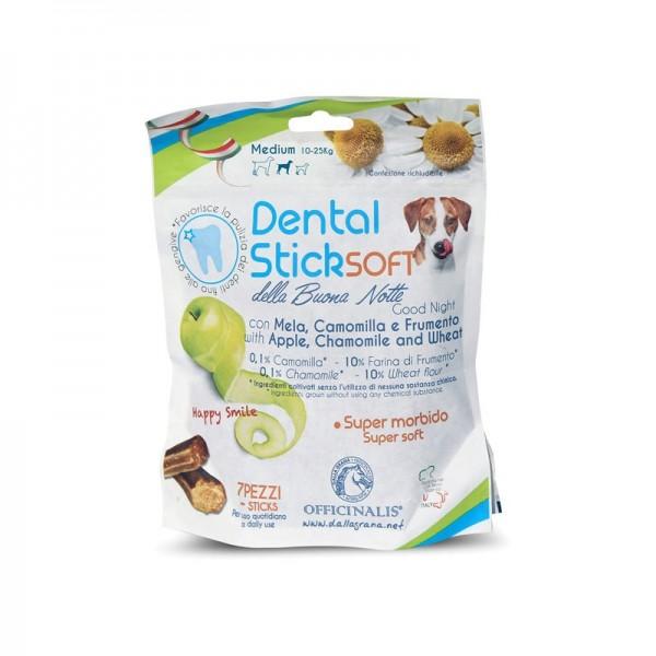 Dalla Grana Officinalis Dental Stick Mela e Camomilla della Buonanotte Medium per Cani