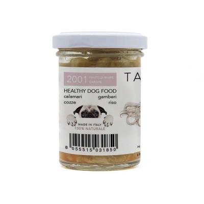 Tasty Pet Frutti di Mare e Carote in Vasocottura Umido per Cani