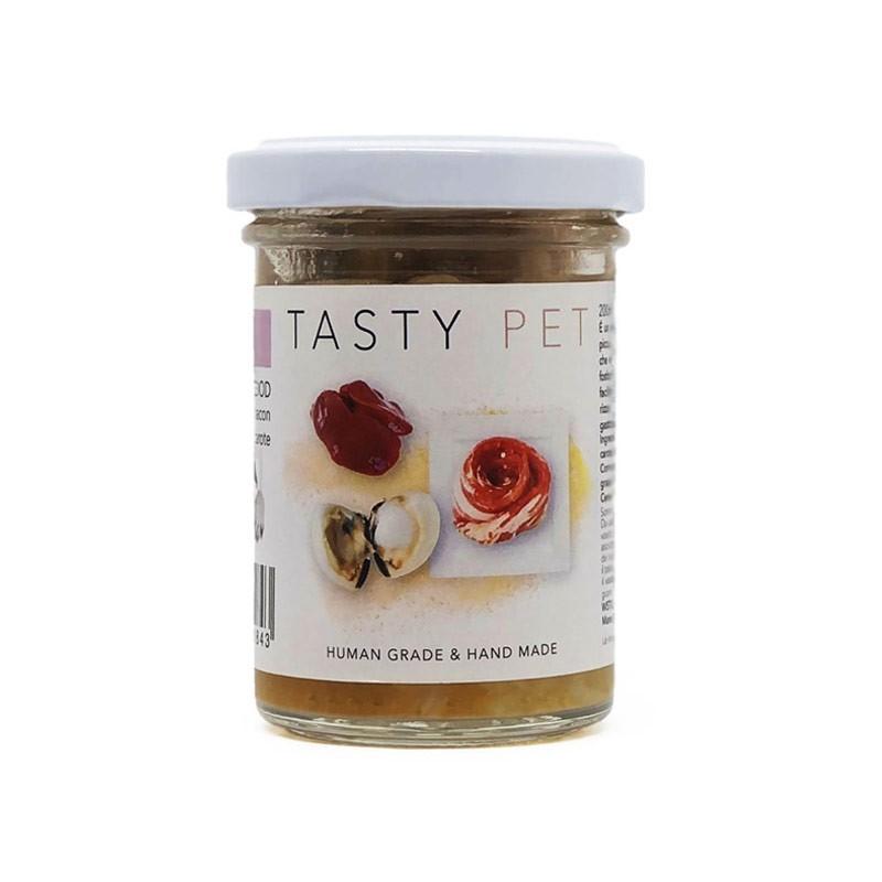 Tasty Pet Fegato e Bacon in Vasocottura Umido per Cani
