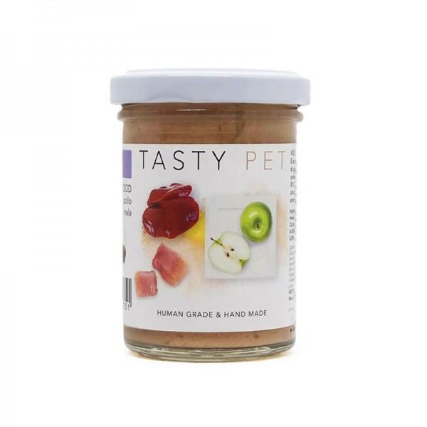 Tasty Pet Pollo e Maiale Omogeneizzato Umido per Gatti