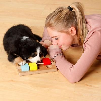 Karlie Gioco Blocchi di Legno Color per Cuccioli