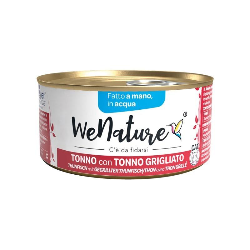 We Nature Tonno con Tonno Grigliato in Acqua Umido per Gatti