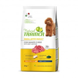 Trainer Natural Small & Toy Adult Manzo e Riso
