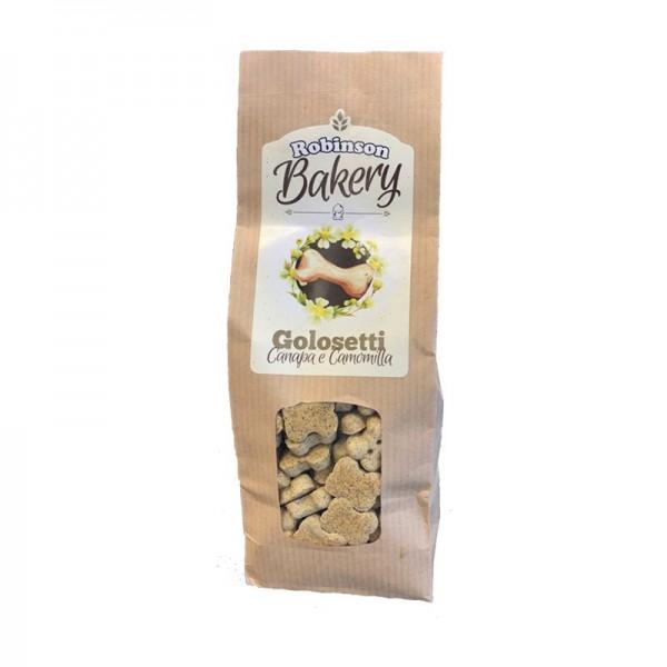 Robinson Bakery Biscotti Golosetti Canapa e Camomilla