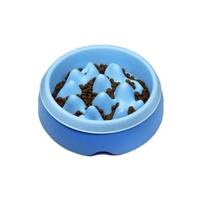 United Pets K2 Ciotola Slow Feed Azzurra per Cani