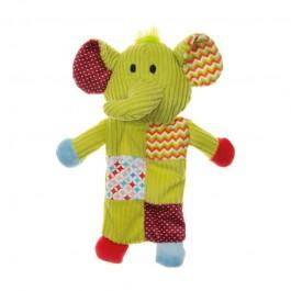 Imac Plush Elefante con Crinkle e Sonaglio