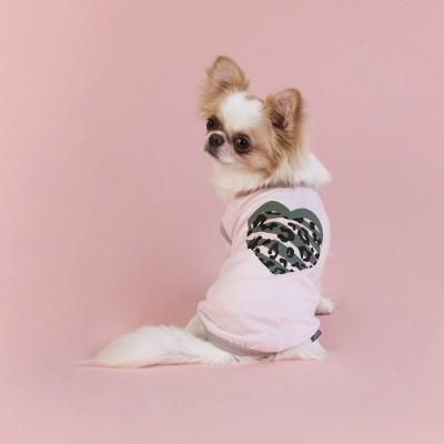 United Pets T-Dog Rosa Maglietta per Cani