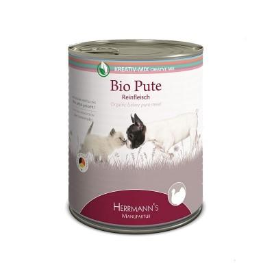 Herrmann's Manufaktur Tacchino Biologico Carne Pura Umido
