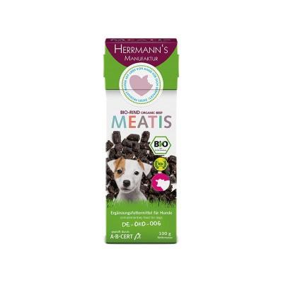 Herrmann's Manufaktur Meatis Manzo Biologico Snack per Cani