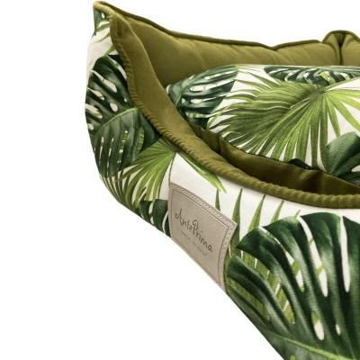 Anteprima Cuccia Quadrata Yolanda Jungle Verde