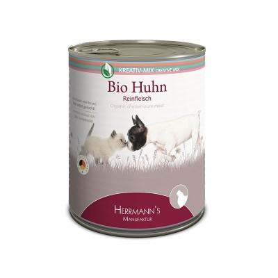 Herrmann's Manufaktur Pollo Biologico Carne Pura Umido