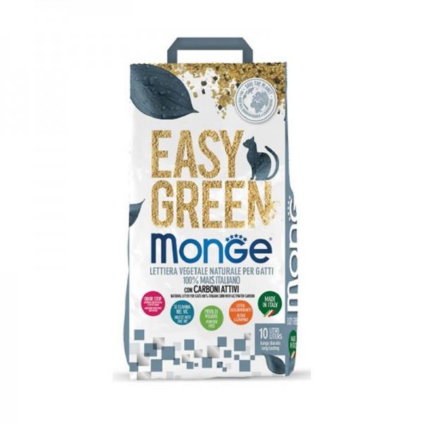 Monge Lettiera Vegetale Easy Green con Carboni Attivi