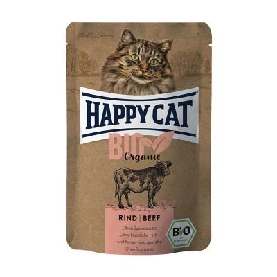 Happy Cat Bio Manzo Adult Umido per Gatti