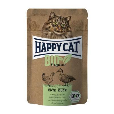 Happy Cat Bio Pollo con Anatra Adult Umido per Gatti