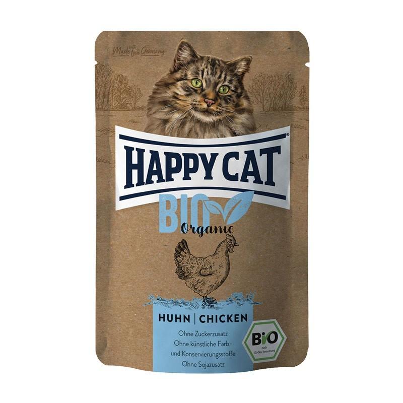 Happy Cat Bio Pollo Adult Umido per Gatti