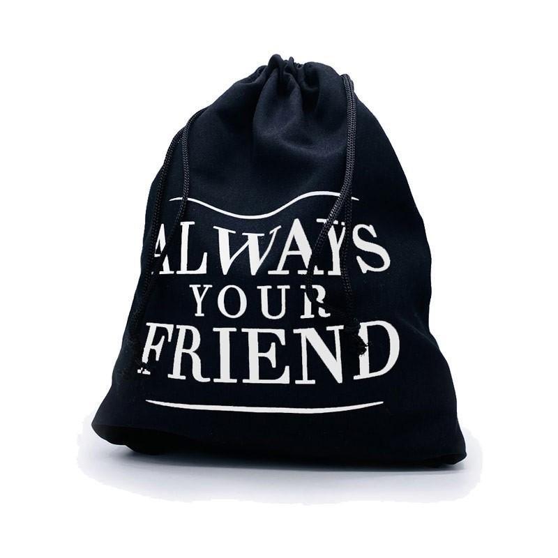 Always Your Friend Sacca Cotton Nera