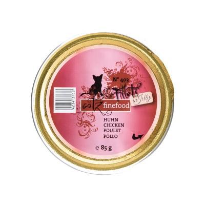 Pets Nature Pollo in Jelly Catz Finefood Fillets N°403 Umido per Gatti