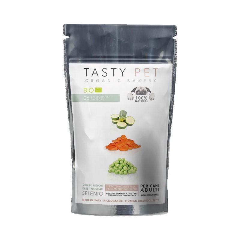 Tasty Pet 08 Biscotti Vegetarian Bio con Carote e Zucchine