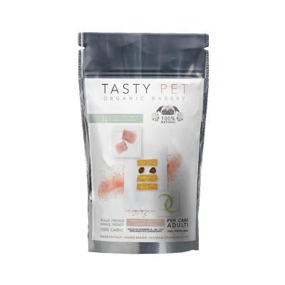 Tasty Pet 127 Tasty Mini Snack Maiale e Pollo per Cani