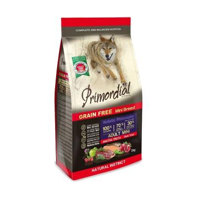 Primordial Mini Anatra e Trota Grain Free Adult