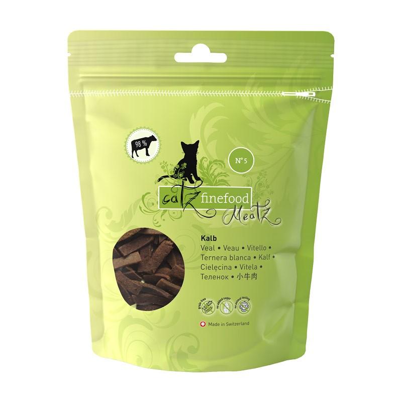 Pets Nature Vitello Catz Finefood Meatz N°5 Snack per Gatti