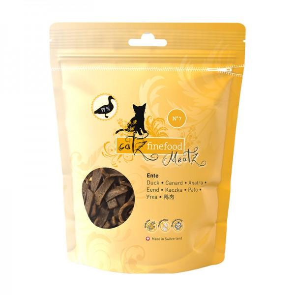 Pets Nature Anatra Catz Finefood Meatz N°7 Snack per Gatti