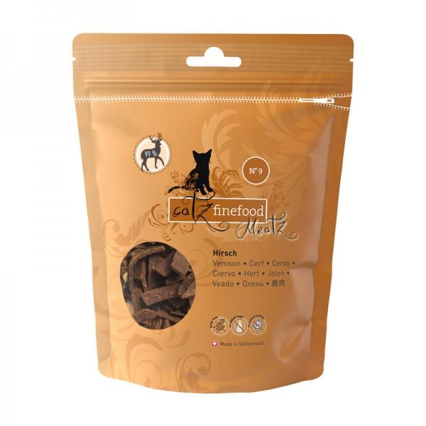 Pets Nature Cervo Catz Finefood Meatz N°9 Snack per Gatti