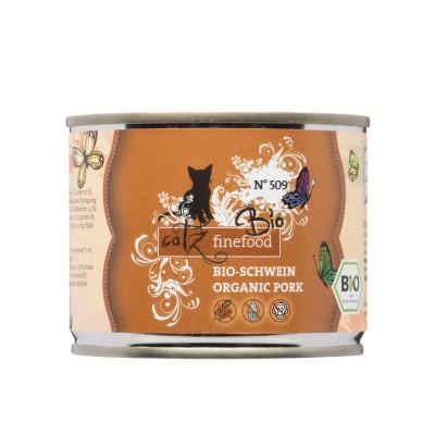 Pets Nature Maiale Bio Catz Finefood N°509 Umido per Gatti