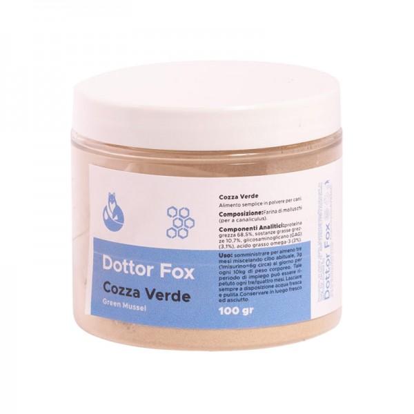 Dottor Fox Cozza Verde Integratore per Cani