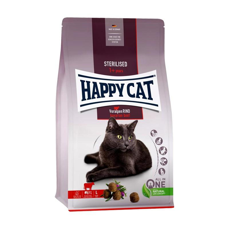 Happy Cat Adult Sterilised al Manzo