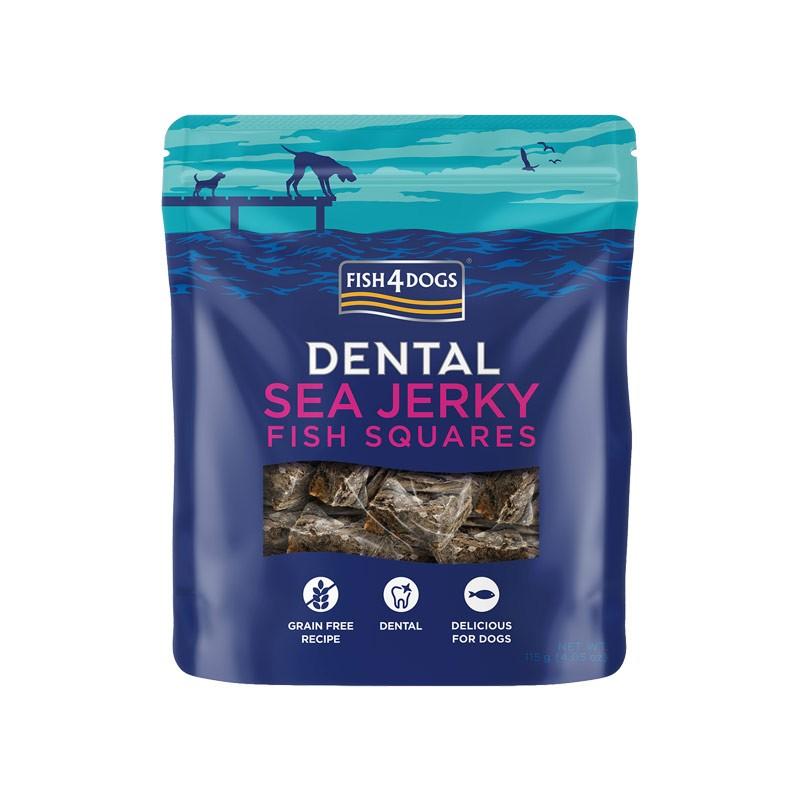 Fish4Dogs Dental Sea Jerky Fish Squares