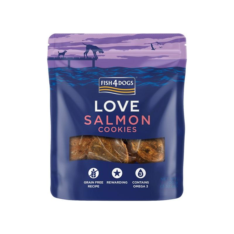 Fish4Dogs Love Salmon Cookies