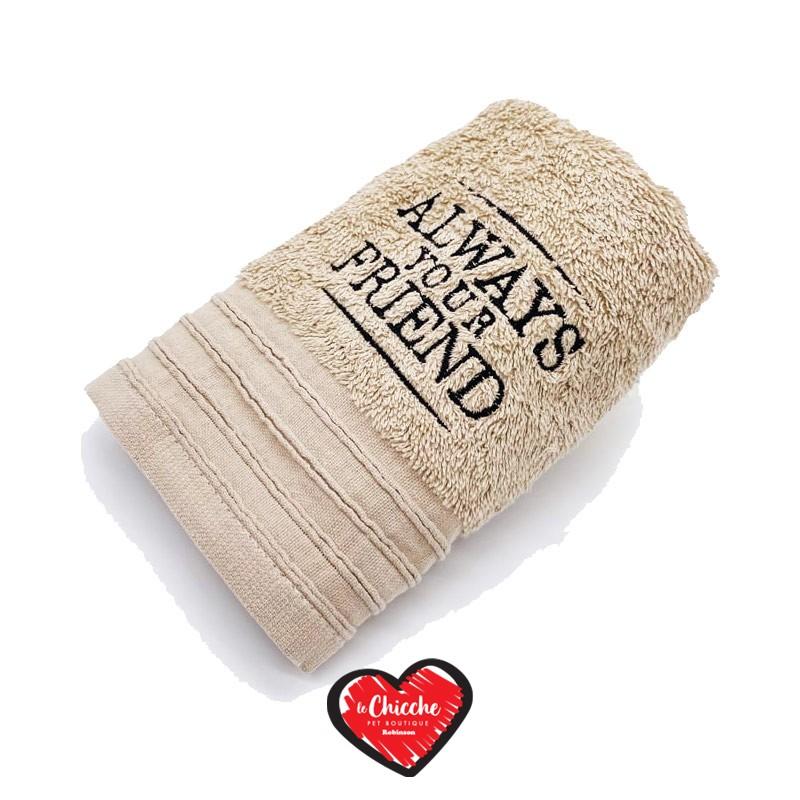 Always Your Friend Mini Towel Beige