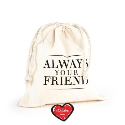 Always Your Friend Sacca Cotton Beige