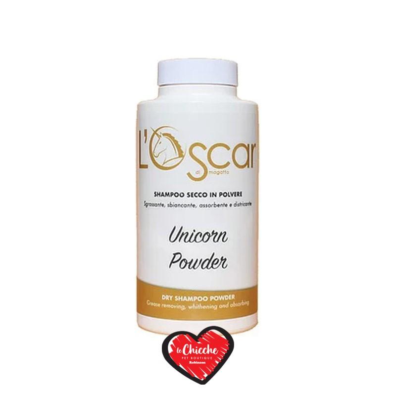 L'Oscar Unicorn Powder Shampoo in Polvere per Cani e Gatti