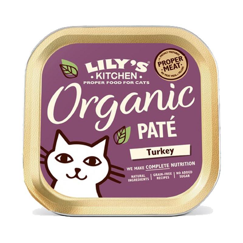 Lily's Kitchen Bio Organic Paté Tacchino per Gatti 85gr