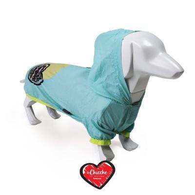 United Pets Easy Rain Light Azzurro Impermeabile Leggero per Cani