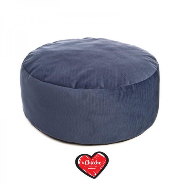 Ferribiella Pouf Velvet Blu