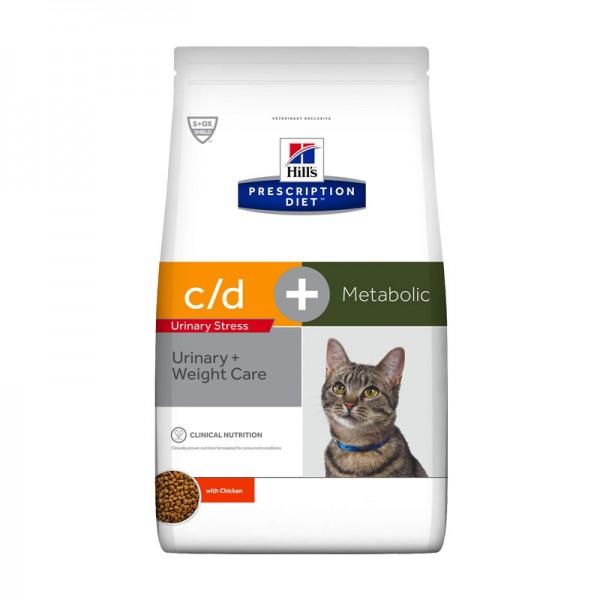 Hill's Metabolic Urinary Stress + Weight Care Prescription Diet Feline
