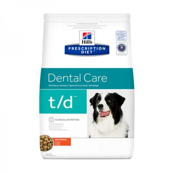 Hill's t/d Diet Prescription Canine