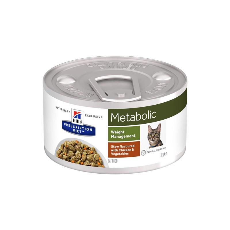 Hill's Metabolic Spezzatino con Pollo e Verdure Prescription Diet Feline
