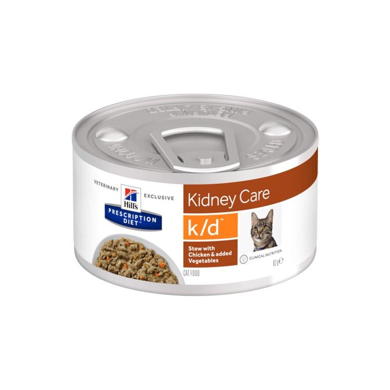Hill's k/d Spezzatino con Pollo e Verdure Prescription Diet Feline