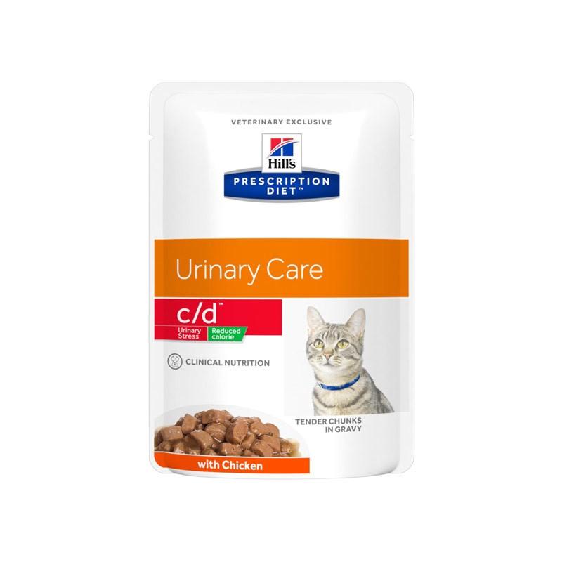 Hill's c/d Reduced Calorie con Pollo Prescription Diet Feline