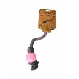 BecoRope Gioco Corda Rosa Eco-Compatibile per Cani